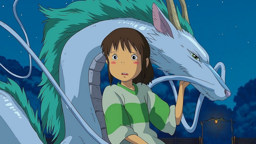 release date for Spirited Away