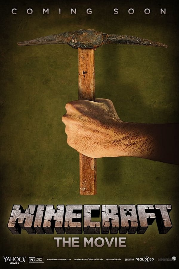 Minecraft: The Movie movie poster