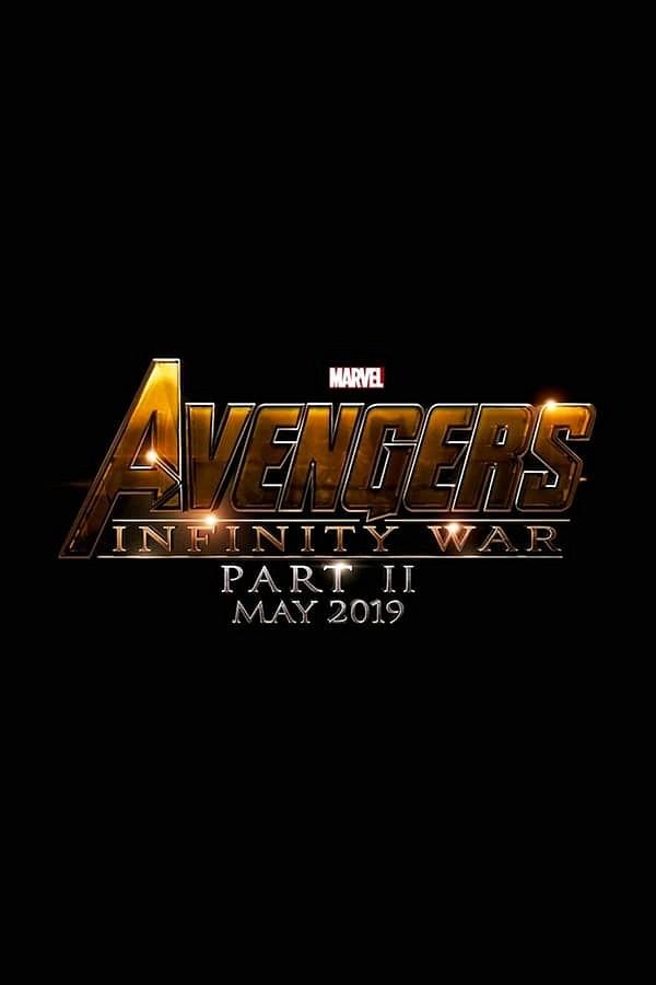 Avengers 4 movie poster