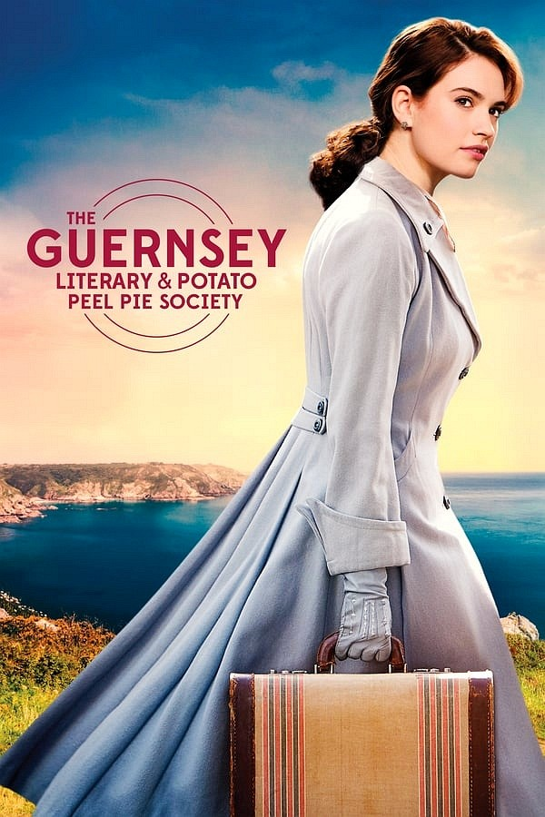 The Guernsey Literary & Potato Peel Pie Society movie poster