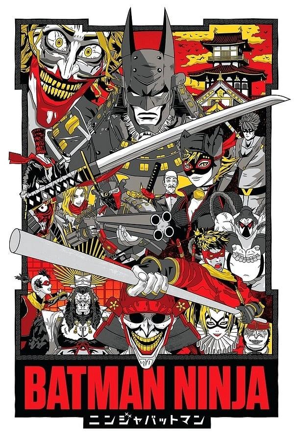 Batman Ninja movie poster