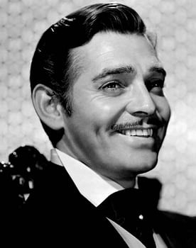 Clark Gable in Gone with the Wind