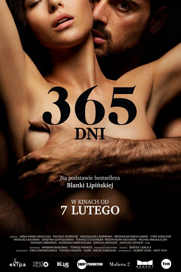 365 Days movie poster