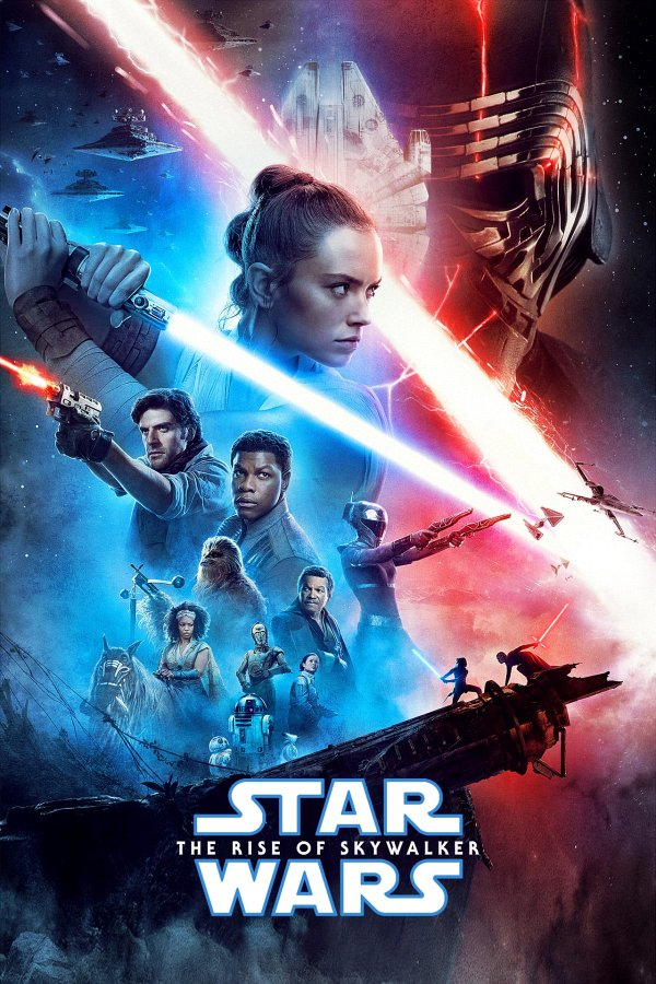 Star Wars: Episode IX - The Rise of Skywalker movie poster
