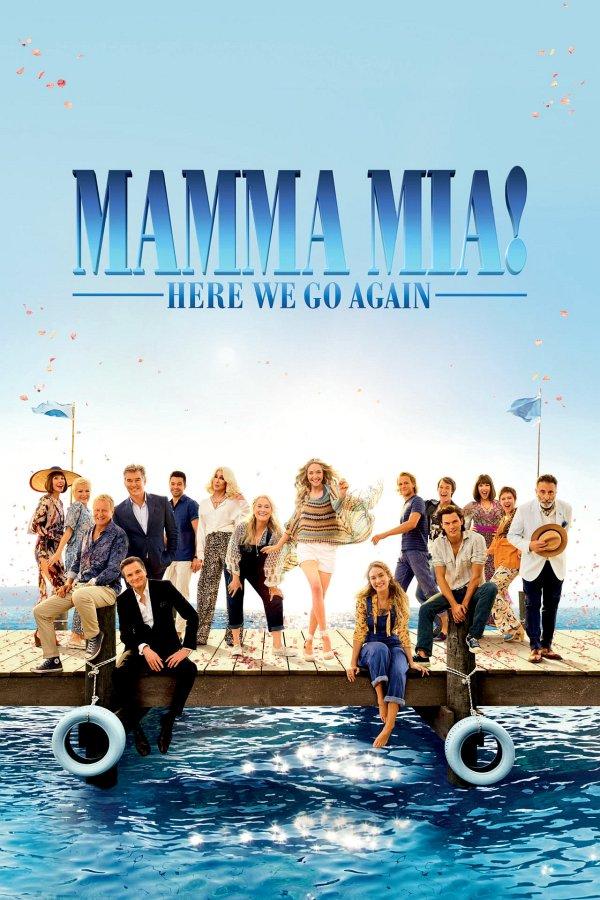 Mamma Mia! Here We Go Again movie poster