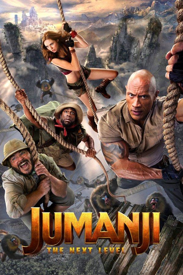 Jumanji: The Next Level movie poster